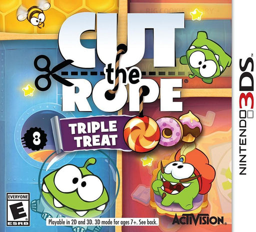 Cut the Rope Triple Treat - Nintendo 3DS