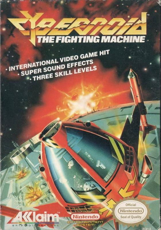 Cybernoid The Fighting Machine - Nintendo Entertainment System