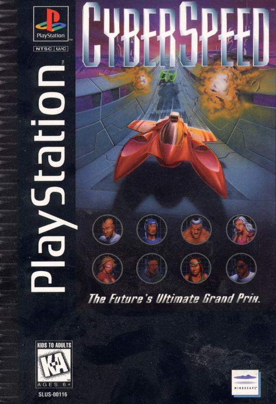 Cyberspeed - PlayStation 1
