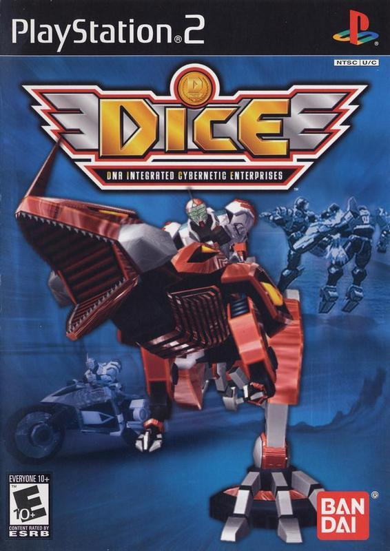 DICE DNA Integrated Cybernetic Enterprises - PlayStation 2