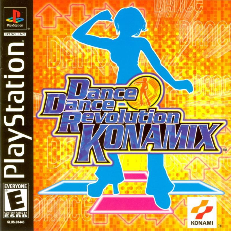Dance Dance Revolution Konamix - PlayStation 1