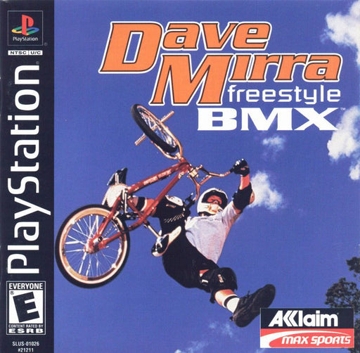 Dave Mirra Freestyle BMX - PlayStation 1