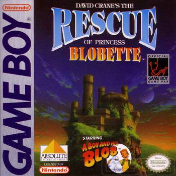 David Cranes The Rescue of Princess Blobette - Game Boy