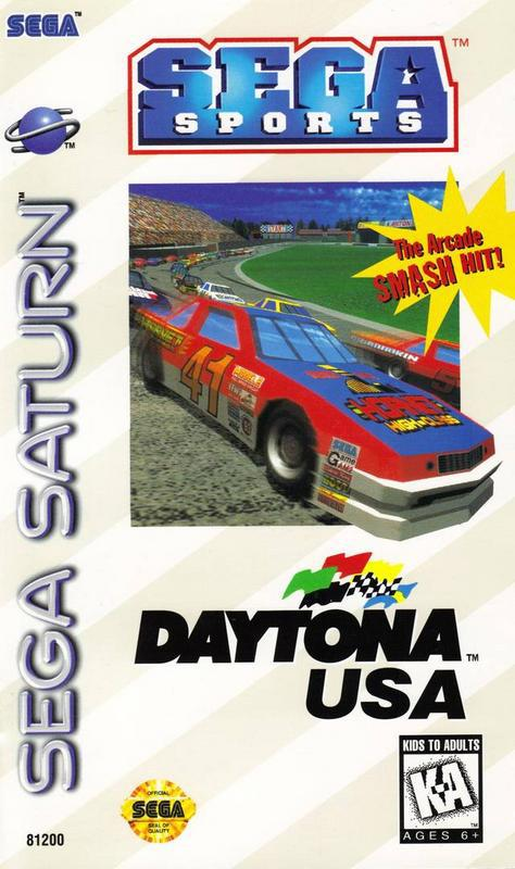 Daytona USA - Sega Saturn