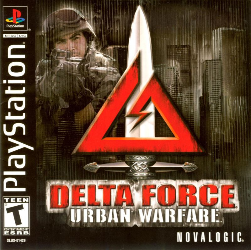 Delta Force Urban Warfare - PlayStation 1