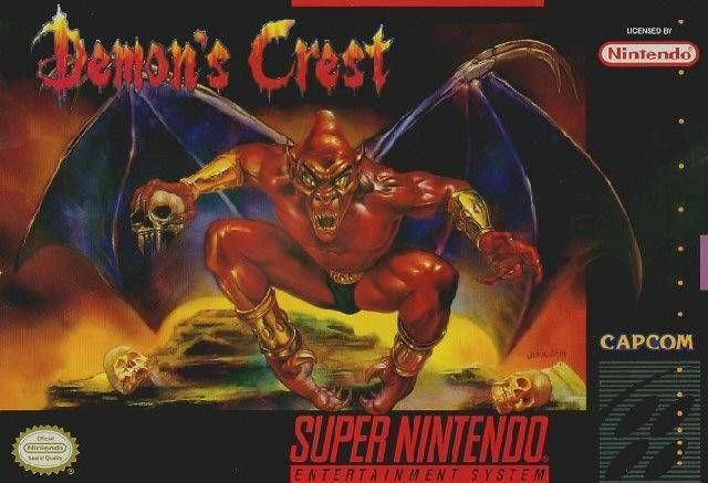 Demons Crest - Super Nintendo Entertainment System