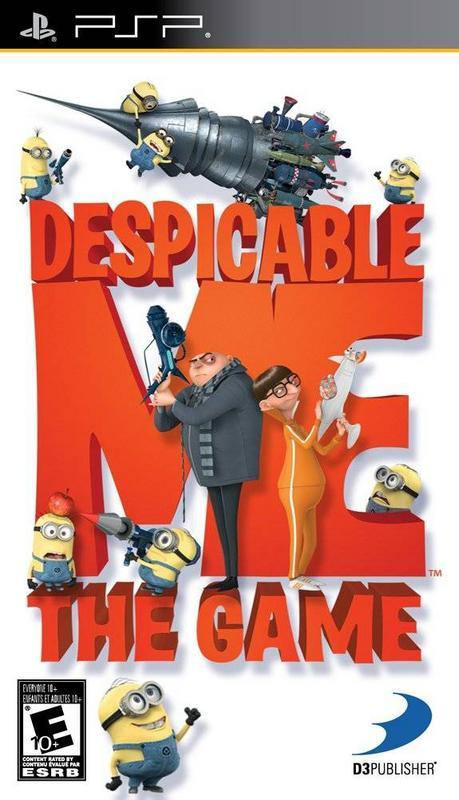 Despicable Me The Game - PlayStation Portable