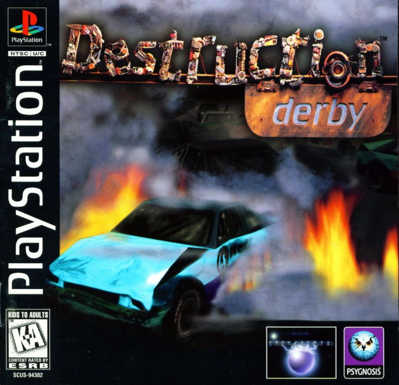 Destruction Derby - PlayStation 1