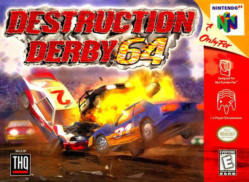 Destruction Derby 64 - Nintendo 64