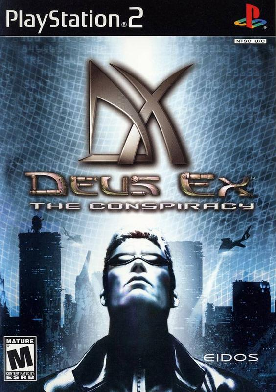 Deus Ex The Conspiracy - PlayStation 2