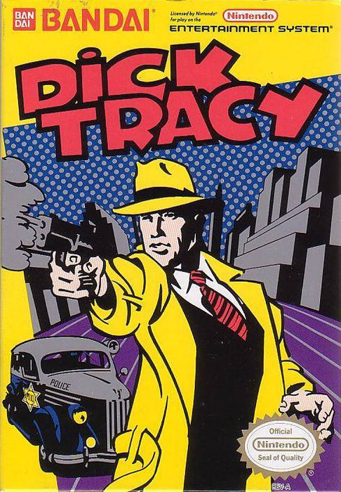Dick Tracy - Nintendo Entertainment System