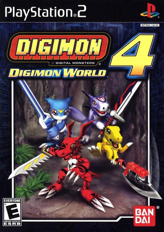 Digimon World 4 - PlayStation 2