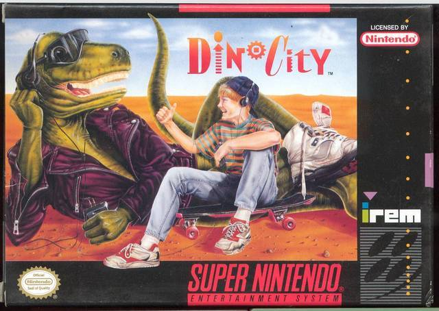 Dinocity - Super Nintendo Entertainment System