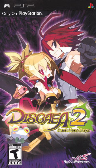 Disgaea 2 Dark Hero Days - PlayStation Portable