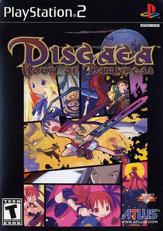 Disgaea Hour of Darkness - PlayStation 2