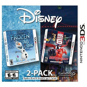 Disney 2-Pack - Frozen Olafs Quest + Big Hero 6 Battle in the Bay