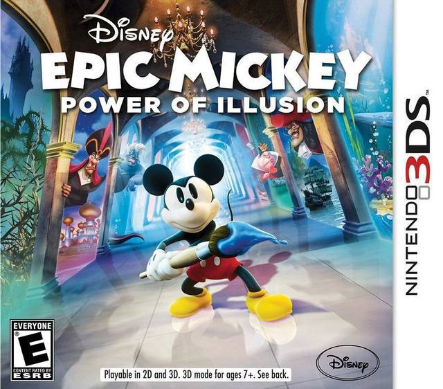 Disney Epic Mickey The Power of Illusion - Nintendo 3DS