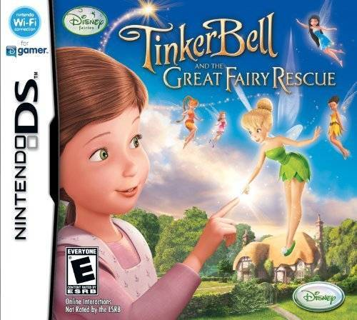 Disney Fairies Tinker Bell and the Great Fairy Rescue - Nintendo DS