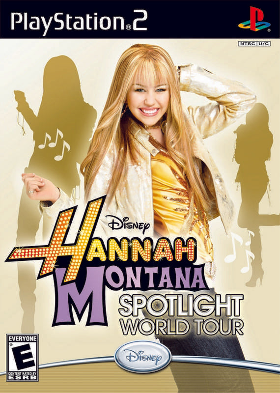 Disney Hannah Montana Spotlight World Tour - PlayStation 2