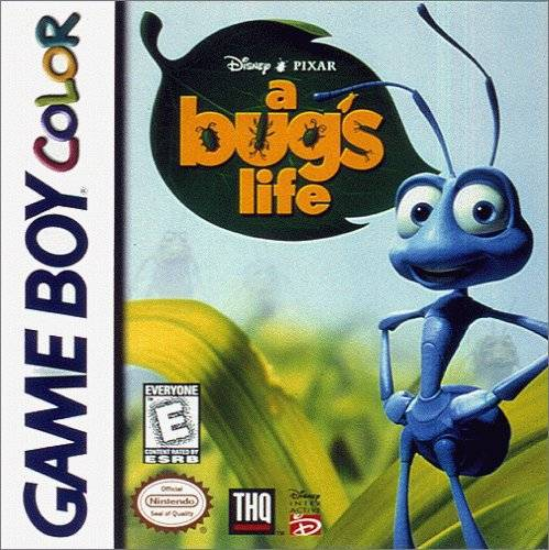 DisneyPixar A Bugs Life - Game Boy Color