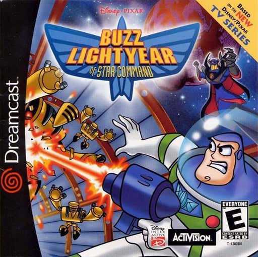DisneyPixar Buzz Lightyear of Star Command - Sega Dreamcast