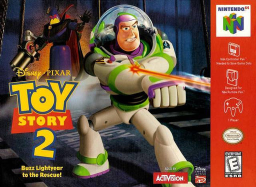 DisneyPixar Toy Story 2 Buzz Lightyear to the Rescue - Nintendo 64