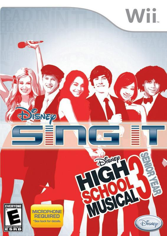 Disney Sing It! – High School Musical 3 Senior Year - Wii