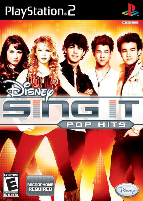 Disney Sing It Pop Hits - PlayStation 2