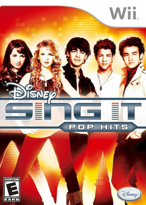 Disney Sing It Pop Hits - Wii