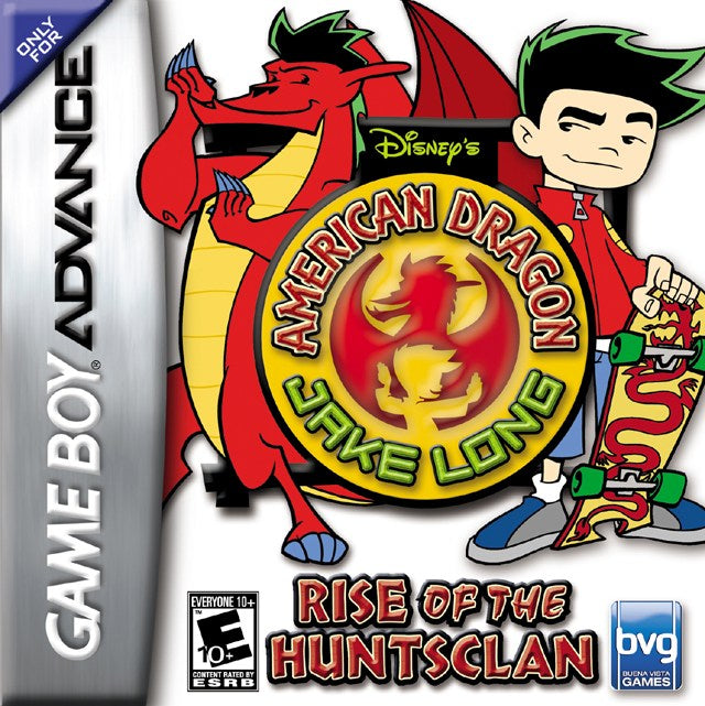Disneys American Dragon Jake Long Rise of the Huntsclan - Game Boy Advance