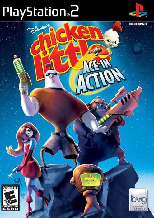 Chicken Little Ace in Action - PlayStation 2