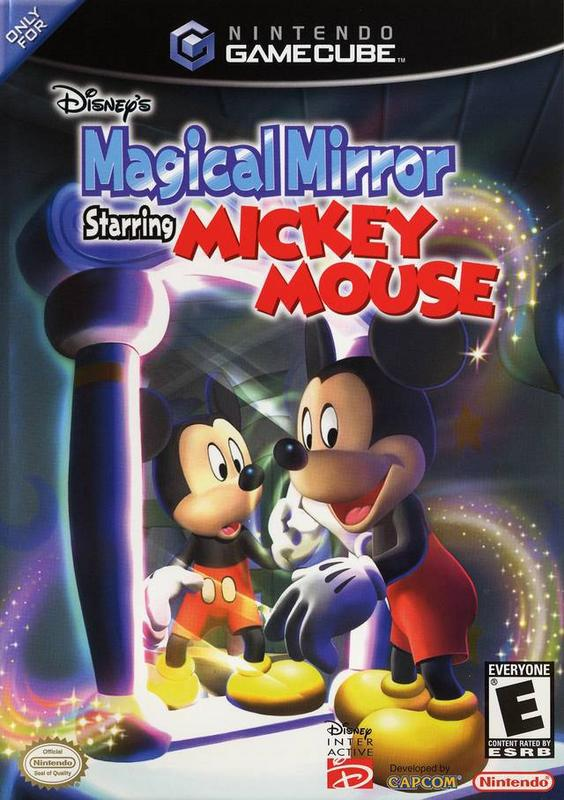 Disneys Magical Mirror Starring Mickey Mouse - Gamecube