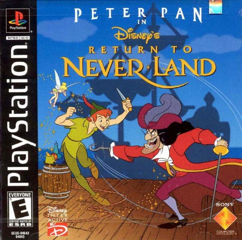 Disneys Peter Pan in Return to Neverland - PlayStation 1