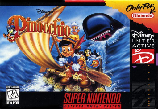 Disneys Pinocchio - Super Nintendo Entertainment System