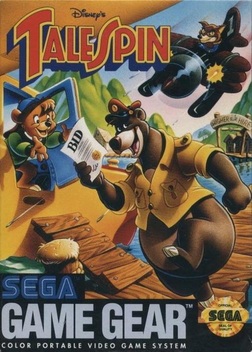 Disneys TaleSpin - Sega Game Gear
