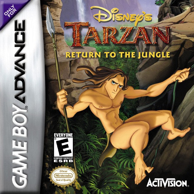 Disneys Tarzan Return to the Jungle - Game Boy Advance