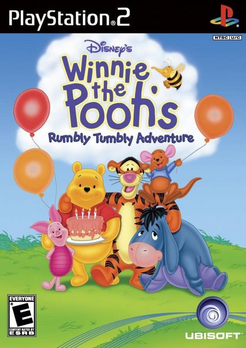 Disneys Winnie The Pooh Rumbly Tumbly Adventure - PlayStation 2