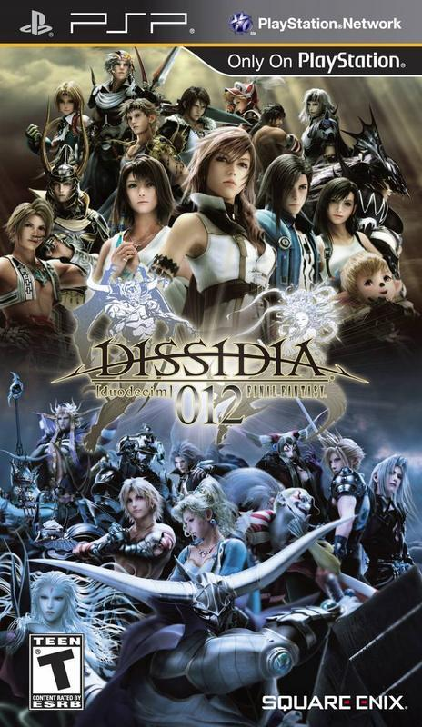 Dissidia 012 Duodecim Final Fantasy - PlayStation Portable
