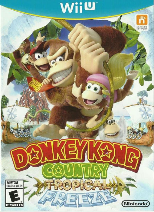 Donkey Kong Country Tropical Freeze - Wii U