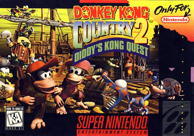 Donkey Kong Country 2 Diddys Kong Quest - Super Nintendo Entertainment System