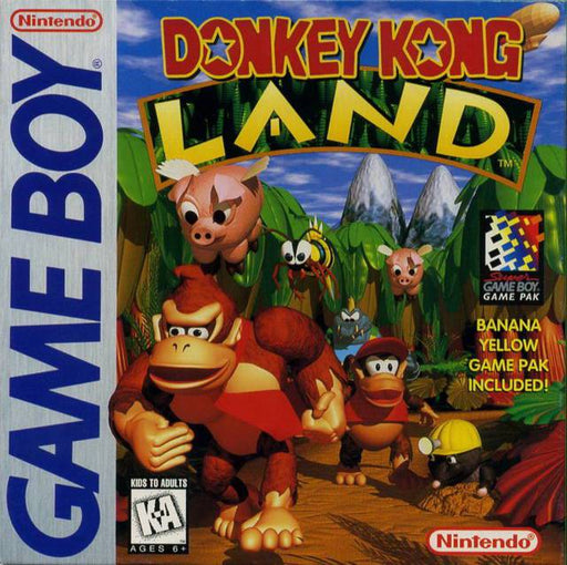 Donkey Kong Land - Game Boy