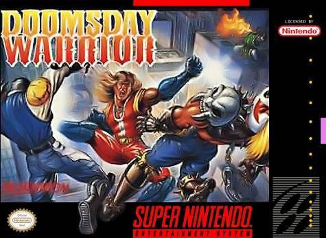 Doomsday Warrior - Super Nintendo Entertainment System