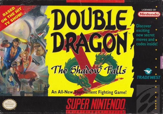 Double Dragon V The Shadow Falls - Super Nintendo Entertainment System