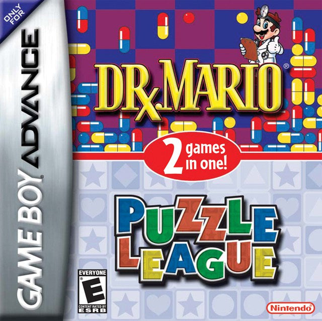Dr. Mario  Puzzle League - Game Boy Advance