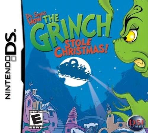 Dr. Seuss How the Grinch Stole Christmas! - Nintendo DS