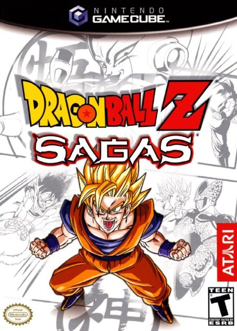 Dragon Ball Z Sagas - Gamecube