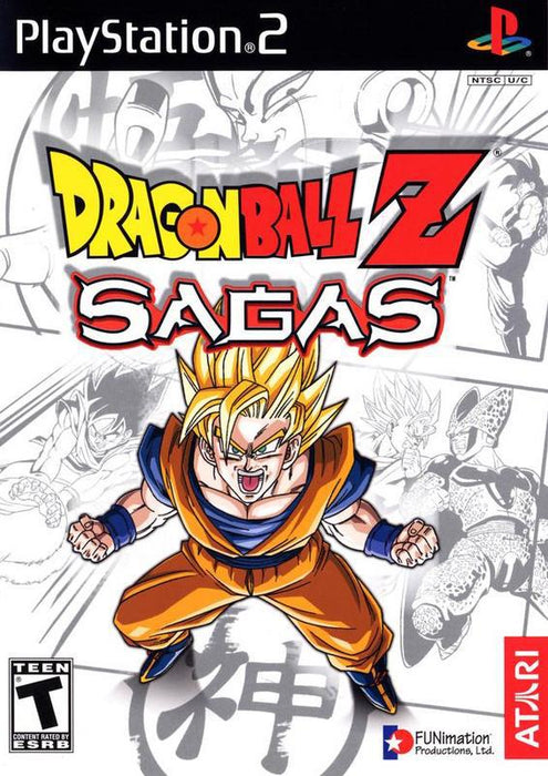 Dragon Ball Z Sagas - PlayStation 2