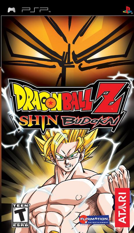 Dragon Ball Z Shin Budokai - PlayStation Portable