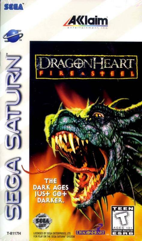 DragonHeart Fire & Steel - Sega Saturn