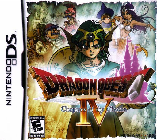 Dragon Quest IV Chapters of the Chosen - Nintendo DS